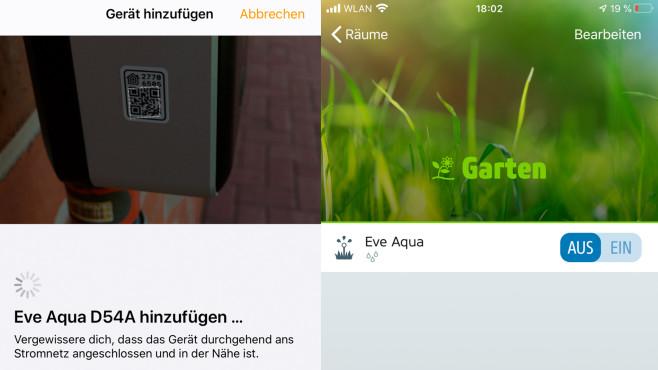 Eve Aqua: Verbindung und Home-App©COMPUTER BILD, Ingolf Leschke
