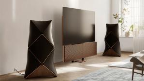 """Der neue B&O Beovision Harmony 88"""" wartet mit einem 8K-OLED-Bildschirm von LG auf.©Bang & Olufsen"""