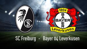Bundesliga: SC Freiburg – Bayer Leverkusen©iStock.com/efks, SC Freiburg, Bayer 04 Leverkusen