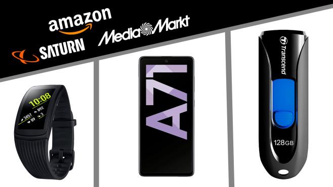 Amazon, Media Markt, Saturn: Die Top-Deals des Tages!©Saturn, Media Markt, Amazon, Samsung, Transcend
