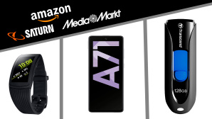 Amazon, Media Markt, Saturn: Die Top-Deals des Tages! © Saturn, Media Markt, Amazon, Samsung, Transcend