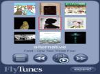 Flytunes: Radio hören auf dem iPhone und dem iPod touch So soll die Bedienoberfläche von Flytunes aussehen.