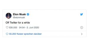 Elon Musk: Tweet©Twitter.com