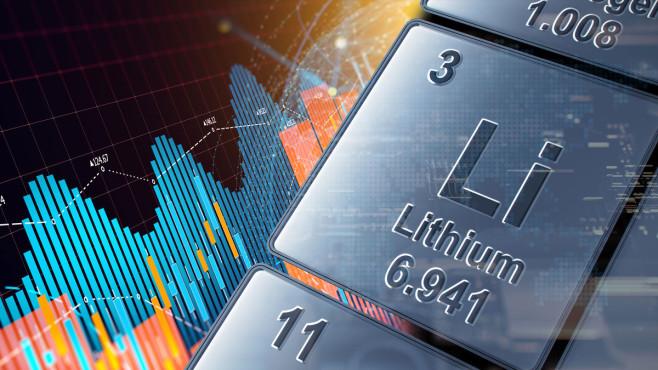 Lithium-Aktien: So profitieren Anleger vom Zukunftsmarkt Lithium ist ein Leichtmetall, das unter anderem in Batterien für E-Autos steckt.©iStock.comZ/Vertigo3d, iStock.com/MF3d