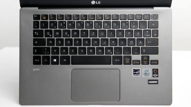 LG Gram 14 Tastatur©COMPUTER BILD