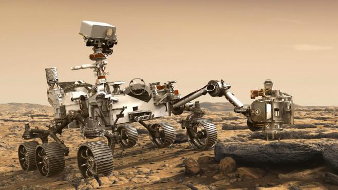 NASA Perseverance Mars Rover©Nasa Presseabteilung