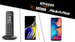 Amazon, Media Markt, Saturn: Die Top-Deals des Tages! © Saturn, Media Markt, Amazon, Gigaset, Samsung