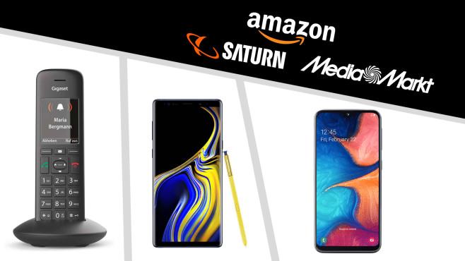 Amazon, Media Markt, Saturn: Die Top-Deals des Tages!©Saturn, Media Markt, Amazon, Gigaset, Samsung