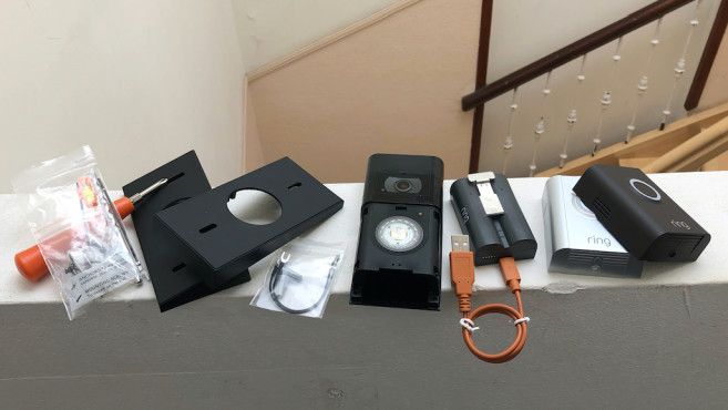 Ring Video Doorbell 3, Gerät und Zubehör©Ring