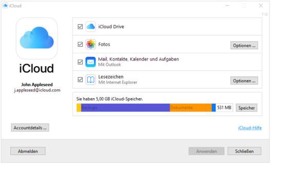 iCloud und Windows 10: Das Beste aus zwei Welten iCloud und Windows 10: Das Beste aus zwei Welten testestetstetetst©Apple