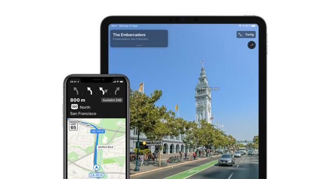 Apple Maps©Apple