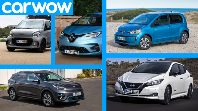 E-Autos©Carwoa, VW, smart, Renault, Kia, Nissan
