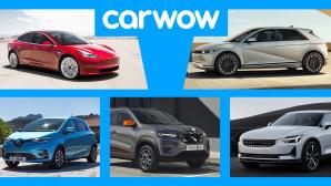 Die besten E-Autos©Carwow, Tesla, Polestar, Renault, Dacia, Hyundai