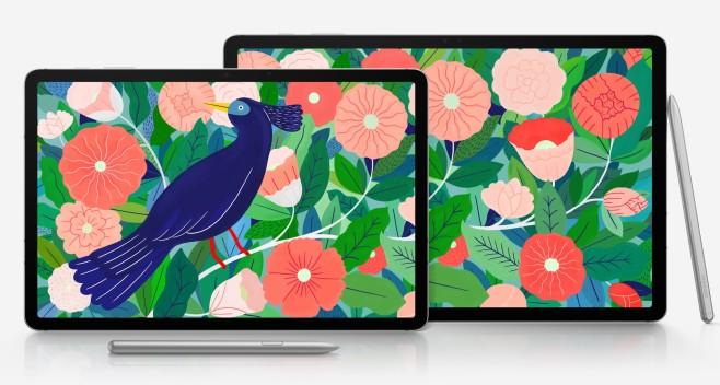 Galaxy Tab S7 und Tab S7+©Samsung / Evleaks