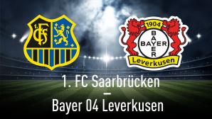 DFB-Pokal Halbfinale©efks-Fotolia.com, Bayer 04 Leverkusen, 1. FC Saarbrücken