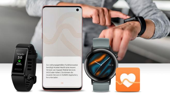 Huawei Health App©Huawei, iStock.com/ljubaphoto