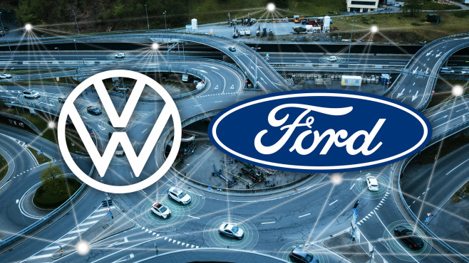Volkswagen und Ford©iStock.com/IGphotography, VW, Ford
