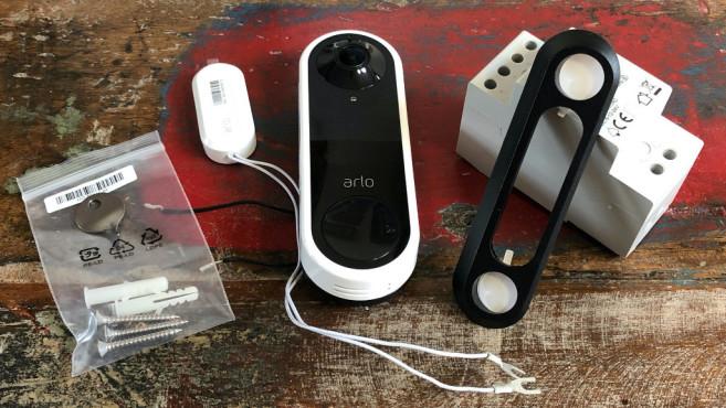 Arlo Video Doorbell, Lieferumfang©Arlo