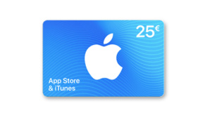 iTunes-Geschenkkarte©PayPal