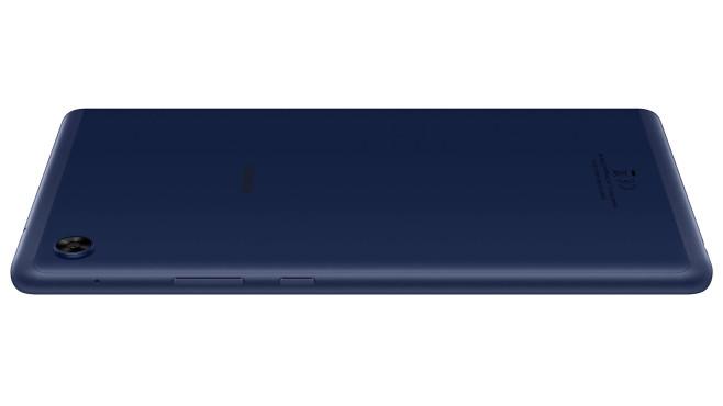Rückseite des Huawei MatePad T8 vor weißem Hintergrund©Huawei