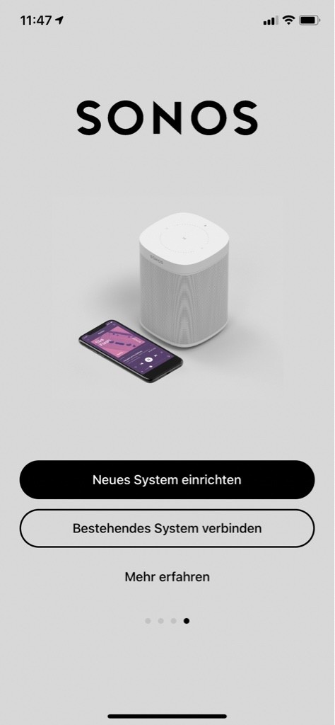 Screenshot 1 - Sonos (App für iPhone & iPad)