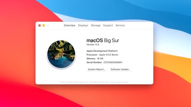 Mac mit ARM-Prozessor©Apple