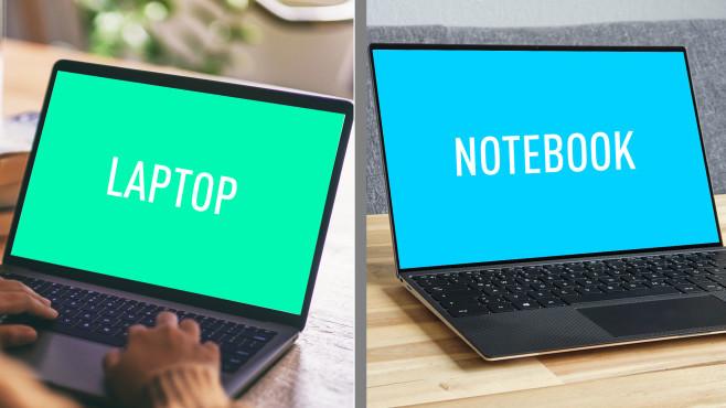 Heißt es Laptop oder Notebook? Welcher Begriff korrekt ist – eine Analyse Laptop und Notebook sind zwei Begriffe für dasselbe – tatsächlich?©iStock.com/Farknot_Architect