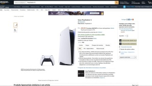 PlayStation 5 Amazon Leak © Amazon.fr