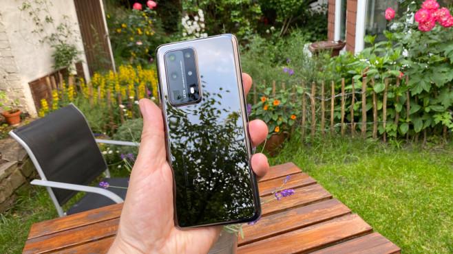 Huawei P40 Pro Plus: Rückseite der schwarzen Version©COMPUTER BILD