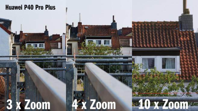 Huawei P40 Pro Plus: Testbilder mit verschiedenen Zoom-Stufen©COMPUTER BILD