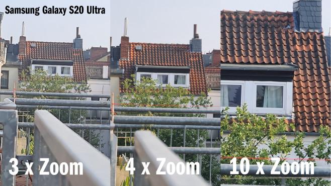 Samsung Galaxy S20 Ultra: Testbilder mit verschiedenen Zoom-Stufen©COMPUTER BILD