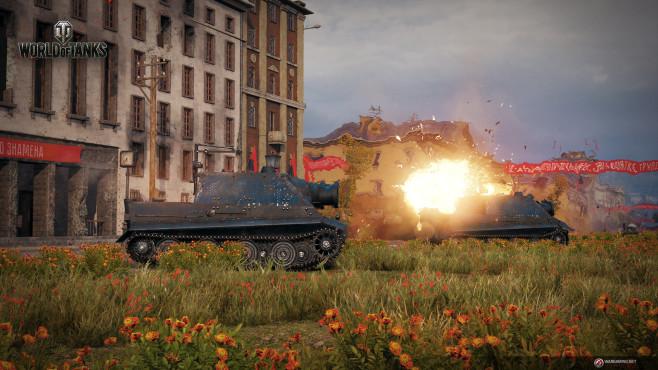 World of Tanks Akt 3: Sturmtiger schießt©Wargaming