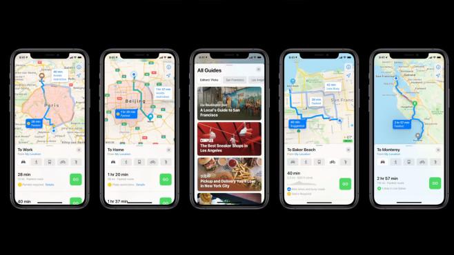 Apple Karten©Apple