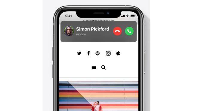 iOS14: Eingehende Anrufe©Apple