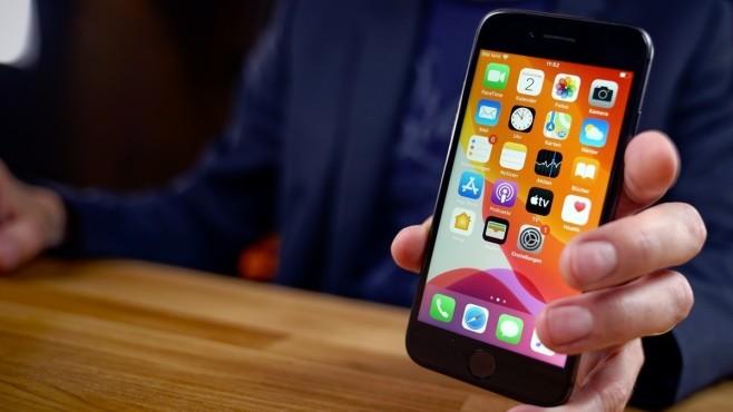 Generalüberholte Apple iPhone 8 von Aldi: Vorderseite©COMPUTER BILD