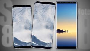 Samsung Galaxy S8 vs. Galaxy Note 8©Samsung / COMPUTER BILD