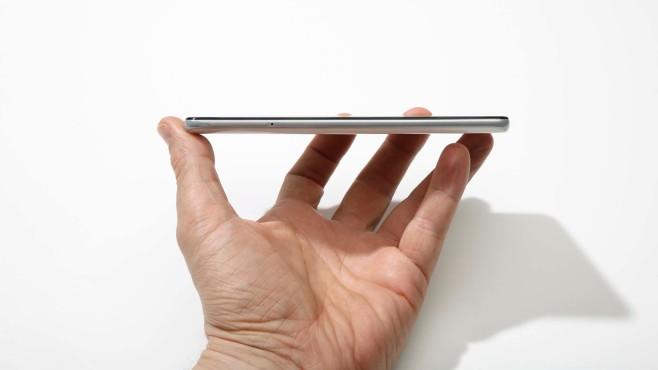 Samsung Galaxy A41 von der Seite©COMPUTER BILD
