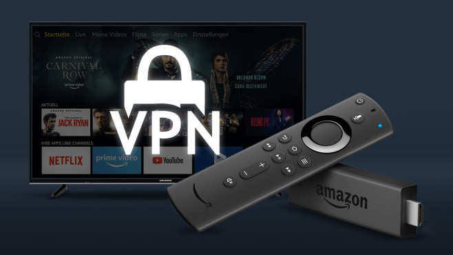 Amazon Fire TV: VPN installieren © Amazon, iStock.com/Sergii Tiliegienov