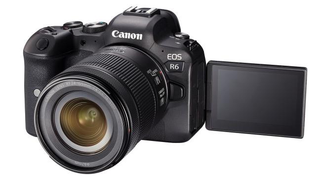 Canon EOS R6 Ausklapp-Display©Canon
