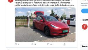 Tesla Model Y©Twitter.com