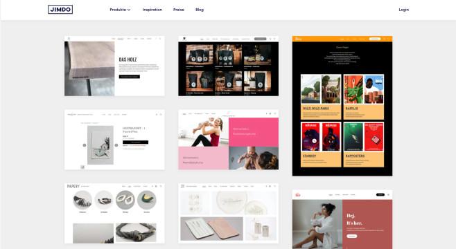 Jimdo: Homepage-Baukasten im Test - in Minuten zur eigenen Website?©Computer Bild
