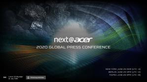 Acer-Neuerheiten 2020 im LiveStream©Acer