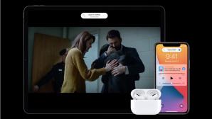 iPad Pro neben AirPods Pro und iPhone 11 Pro©Apple