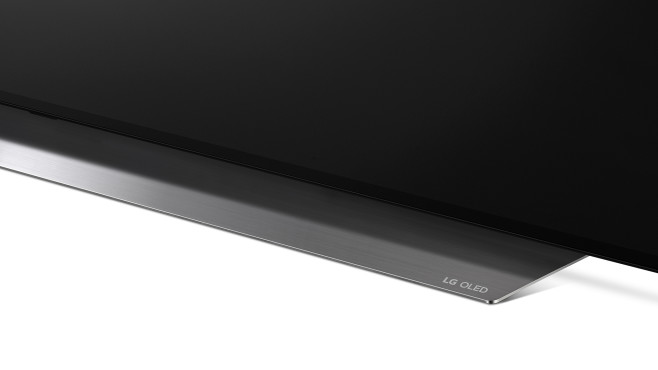 Bildschirmunterseite des LG OLED 48CX©LG Electronics