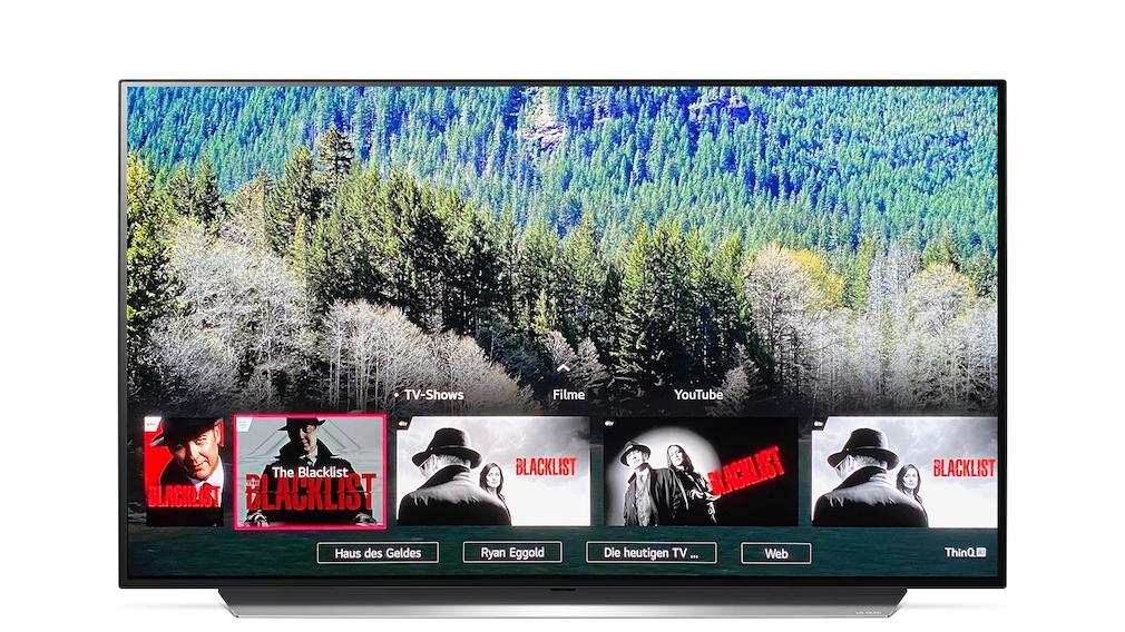 LG OLED CX: Suchfunktion via Magic Remote