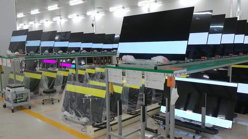 LG kalibriert im Werk die TV-Displays