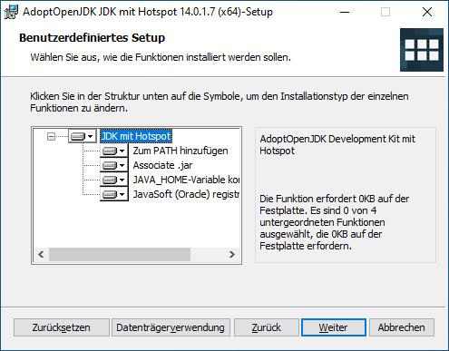 Screenshot 1 - AdoptOpenJDK