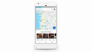 Google-Maps-App auf einem Smartphone©Google