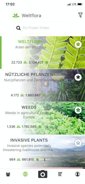 PlantNet Pflanzenbestimmung (App für iPhone & iPad)