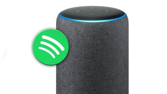 Amazon Echo: Spotify©Amazon / Spotify